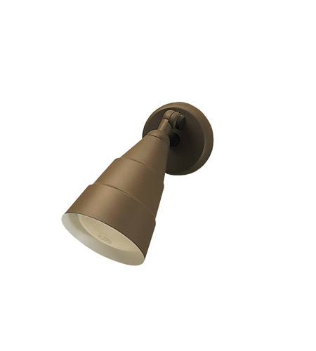 Kichler Lighting Signature 1 Light Outdoor Wall Lantern in Architectural Bronze 6051AZ photo