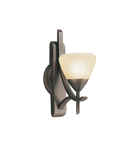 Kichler Lighting Olympia 1 Light Wall Sconce in Olde Bronze 6079OZ photo