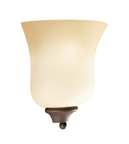 Kichler Lighting Wedgeport 1 Light Wall Sconce in Olde Bronze 6086OZ photo