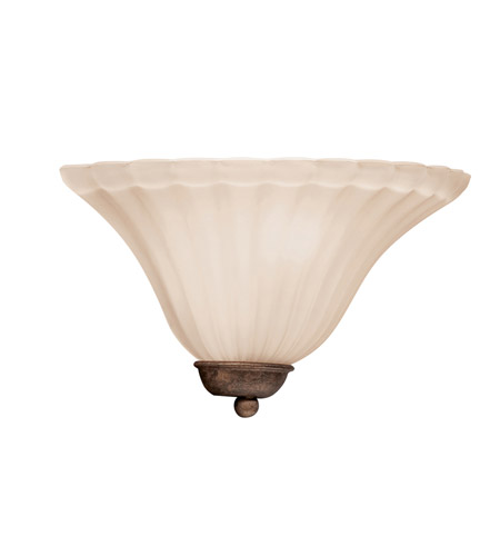 Kichler Lighting Willowmore 1 Light Wall Sconce in Tannery Bronze 6120TZ