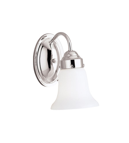 Kichler Lighting Signature 1 Light Wall Sconce in Chrome 6121CH