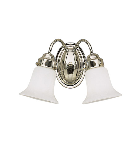 Kichler 6122CH Signature 2 Light 14 inch Chrome Bath Vanity Wall Light photo