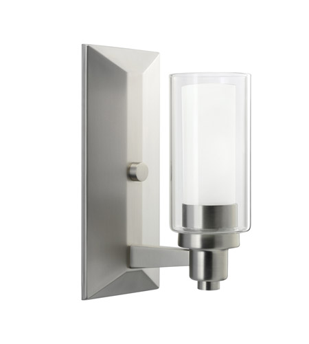Kichler Lighting Circolo 1 Light Wall Sconce in Brushed Nickel 6144NI