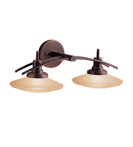 Kichler Lighting Structures 2 Light Bath Vanity in Olde Bronze 6162OZ