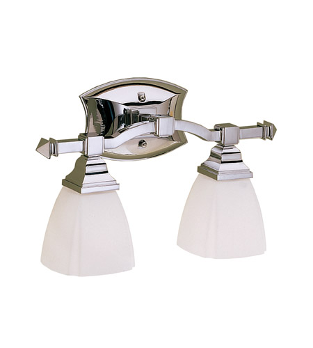 Kichler Lighting Sections 2 Light Bath Vanity in Chrome 6203CH photo
