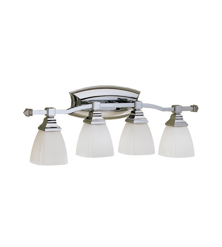 Kichler Lighting Sections 4 Light Bath Vanity in Chrome 6205CH photo