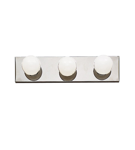 Kichler 623CH Signature 3 Light 18 inch Chrome Bath Vanity Wall Light photo