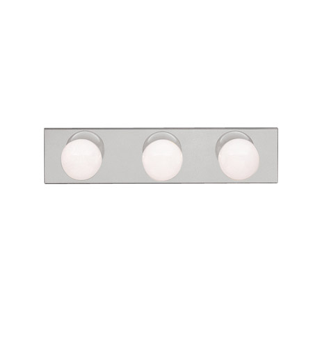 Kichler 623NI Signature 3 Light 18 inch Brushed Nickel Bath Vanity Wall Light photo