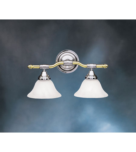Kichler lighting broadview wall mt bath 2lt in polished brass and kichler lighting broadview wall mt bath 2lt in polished brass and chrome 6292pbc aloadofball Image collections