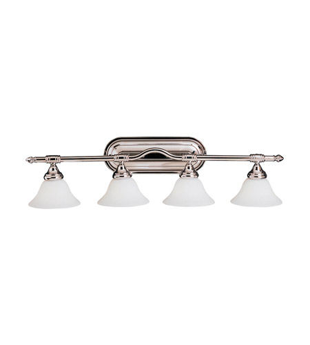Kichler Lighting Broadview 4 Light Bath Vanity in Chrome 6484CH