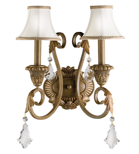 Kichler Lighting Ravenna 2 Light Wall Sconce in Ravenna 6504RVN