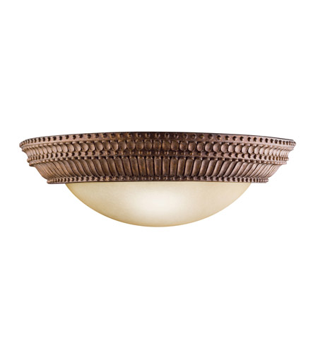 Kichler 6513TZG Larissa 2 Light 18 inch Tannery Bronze w/ Gold Accent Wall Sconce Wall Light photo