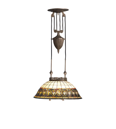 Kichler Lighting Provencia 3 Light Pendant in Bronze 65170 photo