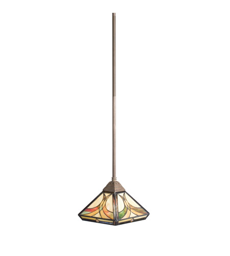 Kichler Lighting Sonora 1 Light Mini Pendant in Bronze 65175 photo