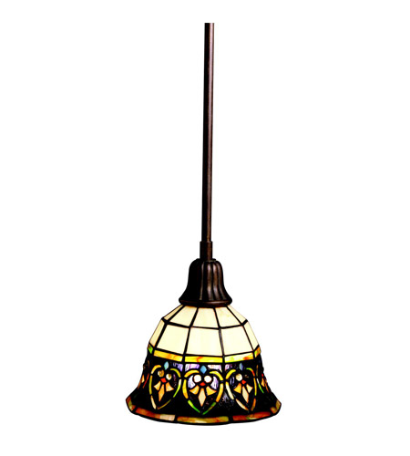 Kichler Lighting Provencia 1 Light Mini Pendant in Bronze 65185 photo