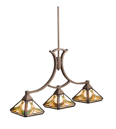 Kichler Lighting Sonora 3 Light Island Light in Bronze 65197 photo