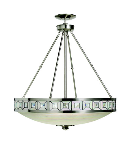 Kichler Lighting Montrose 3 Light Pendant in Brushed Nickel 65239 photo
