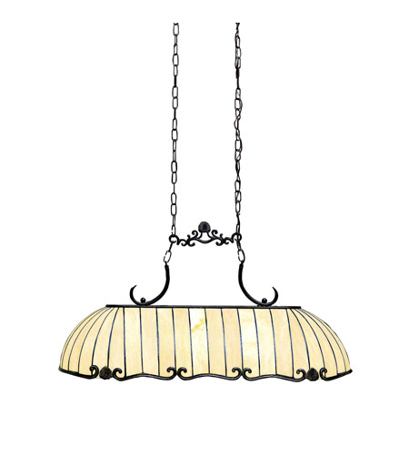 Kichler Lighting Clarice 3 Light Island Light in Tannery Bronze w/ Gold Accent 65242 photo