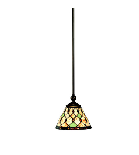 Kichler Lighting Woodbury 1 Light Mini Pendant in Oiled Bronze 65266