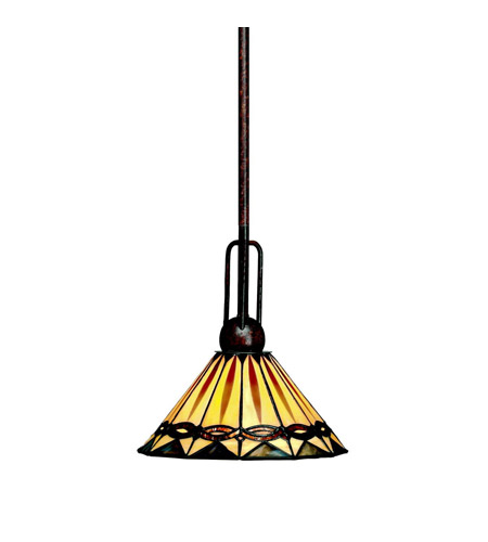 Kichler Lighting Yakima 1 Light Mini Pendant in Tannery Bronze 65271