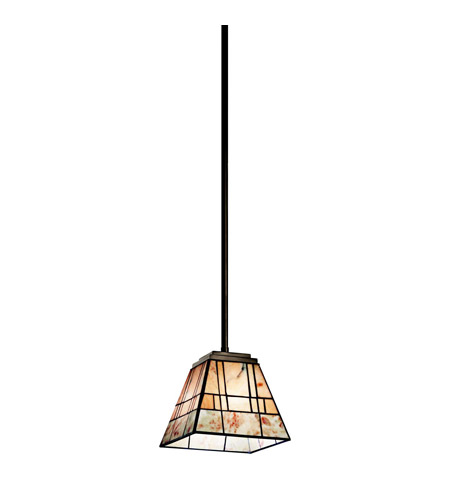 Kichler Lighting Prairie Ridge 1 Light Mini Pendant in Olde Bronze 65318