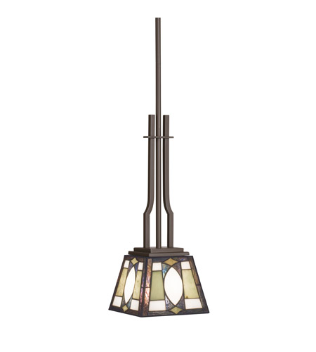 Kichler Lighting Denman 1 Light Mini Pendant in Olde Bronze 65321