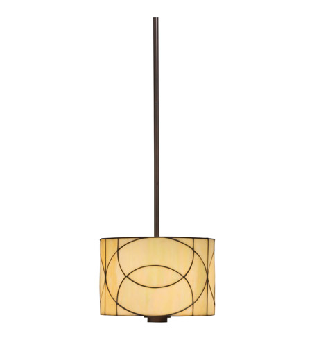 Kichler Lighting Spyro 1 Light Mini Pendant in Dark Bronze 65324