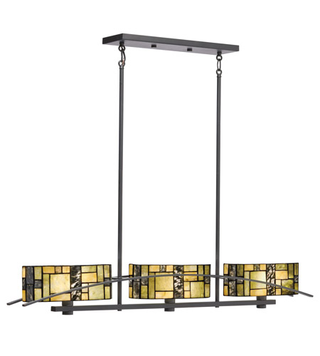 Kichler Lighting Bayonne 3 Light Chandelier in Satin Black 65326 photo