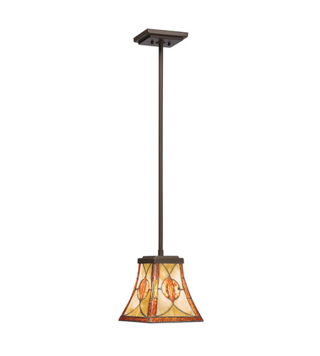 Kichler Lighting Cats Eye 1 Light Mini Pendant in Olde Bronze 65329