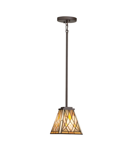 Kichler Lighting Casita 1 Light Mini Pendant in Olde Bronze 65333 photo