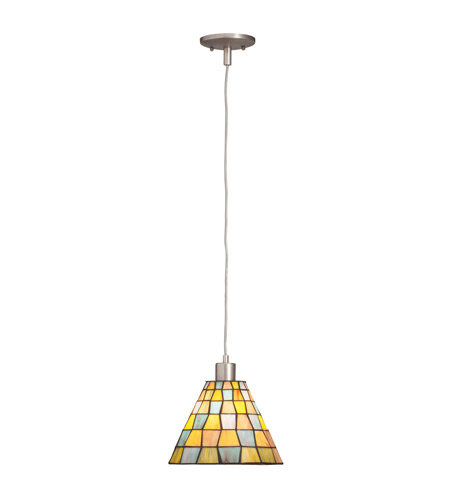 Kichler Lighting Casita 1 Light Mini Pendant in Antique Pewter 65334