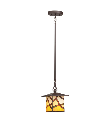 Kichler Lighting Casita 1 Light Mini Pendant in Olde Bronze 65335 photo
