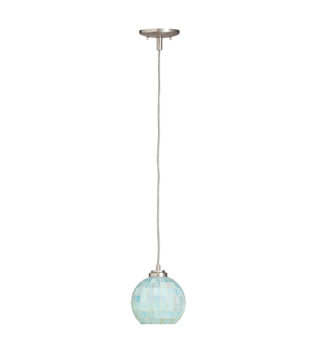 Kichler Lighting Casita 1 Light Mini Pendant in Brushed Nickel 65336 photo