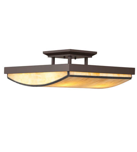 Kichler Lighting Riverview 4 Light Semi-Flush in Olde Bronze 65339 photo