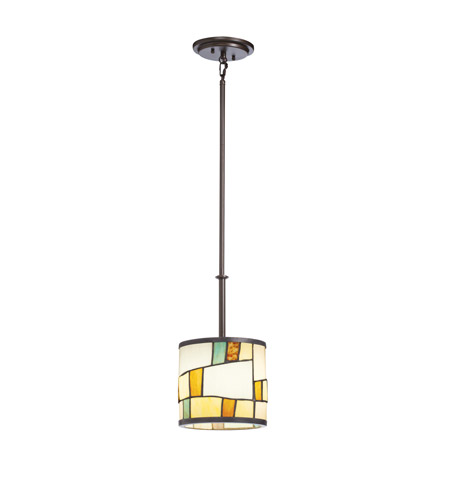 Kichler Lighting Mihaela 1 Light Mini Pendant in Shadow Bronze 65346