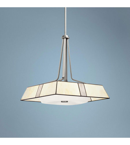 Kichler Lighting Bryn 4 Light Pendant in Brushed Nickel 65347 photo