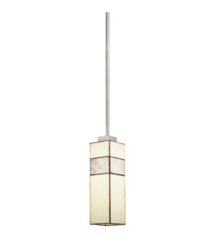 Kichler Lighting Bryn 1 Light Mini Pendant in Brushed Nickel 65349