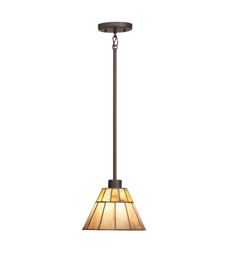 Kichler Lighting Morton 1 Light Mini Pendant in Olde Bronze 65354