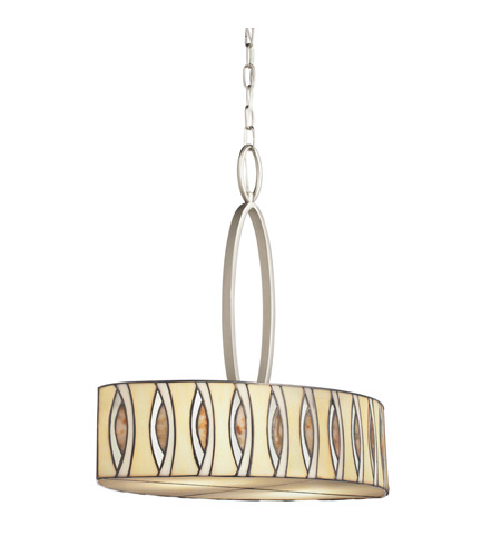 Kichler Lighting Signature 4 Light Inverted Pendant in Brushed Nickel 65360 photo