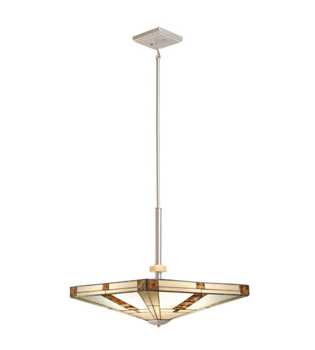 Kichler Lighting Bryce 4 Light Pendant in Brushed Nickel 65363