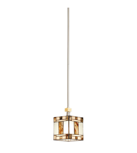 Kichler Lighting Bryce 1 Light Mini Pendant in Brushed Nickel 65364