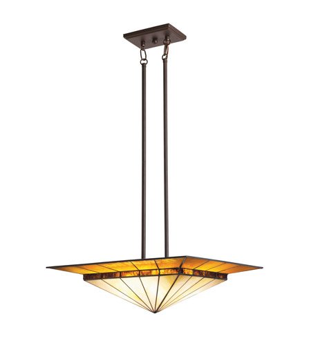 Kichler Lighting Harrison 4 Light Pendant in Olde Bronze 65365