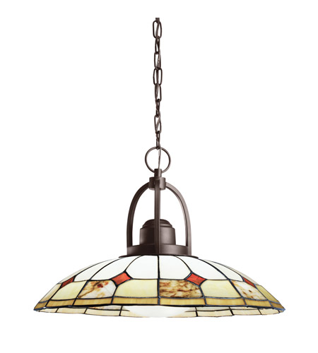 Kichler Lighting Deveron 1 Light Pendant in Olde Bronze 65368 photo