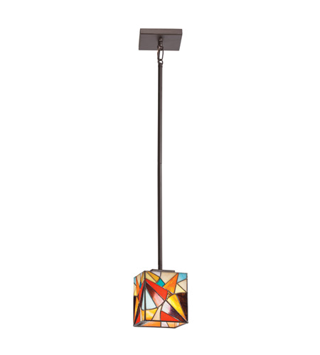 Kichler Lighting Signature 1 Light Mini Pendant in Olde Bronze 65371