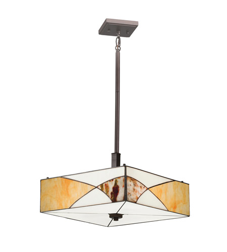 Kichler Lighting Elias 3 Light Convertible Pendant in Olde Bronze 65374 photo