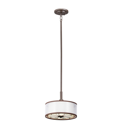 Kichler Lighting Louisa 1 Light Mini Pendant in Olde Bronze 65389 photo