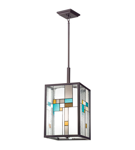 Kichler Lighting Caywood 4 Light Foyer Chandelier in Olde Bronze 65391 photo