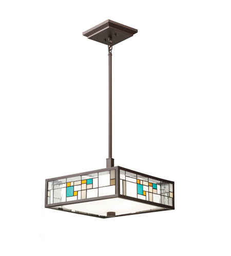 Kichler Lighting Caywood 3 Light Convertible Pendant in Olde Bronze 65393 photo