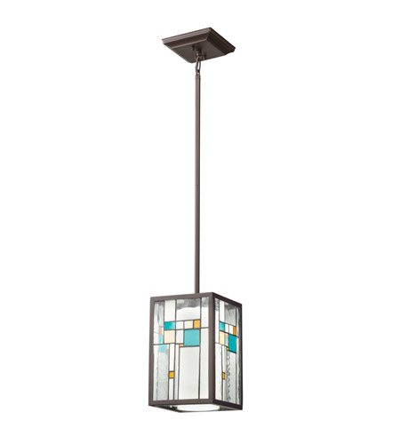 Kichler Lighting Caywood 1 Light Mini Pendant in Olde Bronze 65394 photo