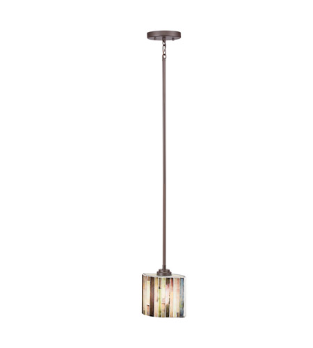 Kichler Lighting Marisa 1 Light Mini Pendant in Shadow Bronze 65399